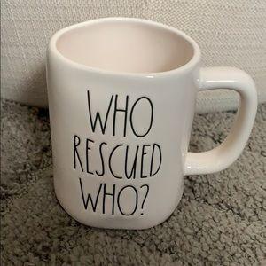 Rae Dunn who rescued who mug